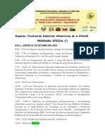Programa Oficial II Congreso Alinnova 2016