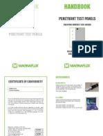 Handbook for Penetrant Test Panels - Jan 15 - English