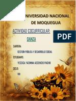 Danza - Yessica Yasmina Ascencio p.