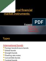 International Financial Market Instruments