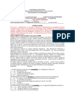 Caso Clínico Para Evaluación 2014