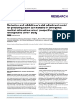 Derivation and validation of a risk adjustment model for predicting seven day mortality in emergency medical admissions.pdf