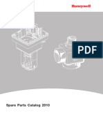 Actuadores Field Devices Spare Parts Catalogue 2010