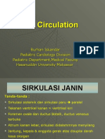 22. Pediatri - Sirkulasi Fetal (Dr. Burhanuddin Iskandar, Sp.a (2)