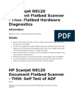 HP Scanjet N9120 Diagnostic Flatbed Scanner