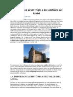 Guía Práctica de Un Viaje a Los Castillos Del Loira