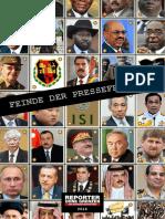 feinde der pressefreiheit 2016 - reporter ohne grenzen