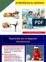 12 Nutrición Clínica - Nutrición en El Deporte