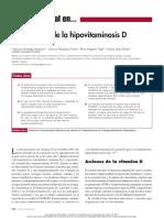 Tto de Hipovitaminosis d