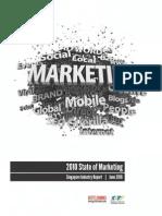 State of Marketing 2010