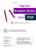 Mungbean Recipes(South Asia)