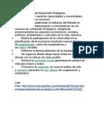 Características Del Desarrollo Endógeno
