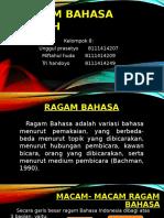 Ragam Bahasa Ilmiah (bahasa indonesia)