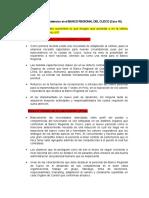 Capacitación Por Competencias en El BANCO REGIONAL DEL CUZCO