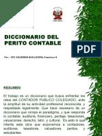 Diccionario de Peritaje Contable