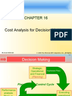 Cost Analysis for Decision Making (Acct - What the Numbers Mean)