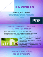 Terapia Familiar  Sistemica y Derecho a Vivir en Familia