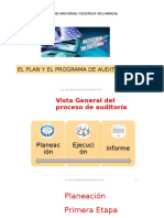 Plan y Programa de Auditoria