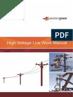 High Voltage Live Work Manual