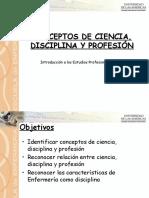 8 Clase Ciencia, Disciplina y Profesion