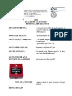 Ghid de Acțiune La Incendiu - CADRE DIDACTICE DLLS