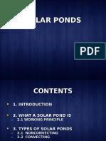 solar ponds
