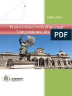 Plan de Desarrollo Municipal Tianguistenco (2)2013 (1)