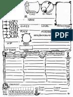 White Box Character Sheet (10097978)
