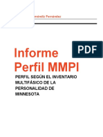 Informe Psicológico MMPI