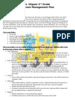 iniguez araceli classroom management plan
