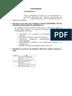 CUESTIONARIO - gobierno electronico