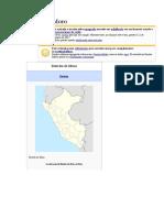 Caserios Del Distrito de Moro