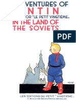 (1) Tintin in the Land of the Soviets