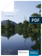Water Resource Management in Germany