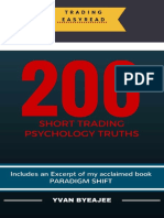 200 Short Trading Psychology Truths