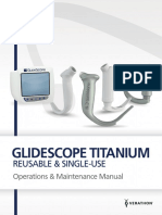 Glidescope Titanium Operations and Maintenance Manual