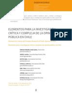 Venegas,..Astorga. Elementos de OP en Chile