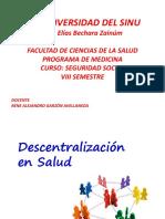 Descentralizacion y Participacion Comunitaria en Salud