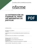 Extradicion de Fujimori