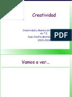 CRP 2 Creatividad