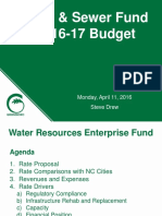 Greensboro City Water Resources Budget
