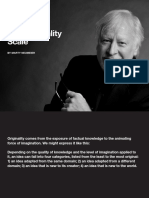 The Originality Scale By Marty Neumeier