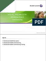 2 WCDMA d2U d4U Distributed NodeB Commissioning