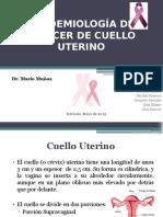 Epidemiología de Cáncer de Cuello Uterino (1)