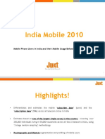 India Mobile 2010 Brochure - A Study Conducted by Juxt