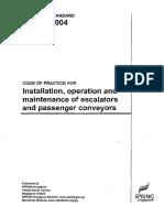 CP 15 - 2004  Installation,operation _ maintenance of escalator _ passenger conveyor.pdf