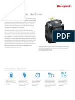 LP3 Mobile Label Printer Datasheet Ltr