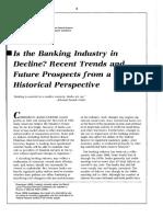 Banking Decline