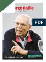 Suplemento Especial Jorge Batlle