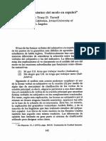 MODUS Bybee Terell Analisis Semantico Del Modo en Espanol 145-163